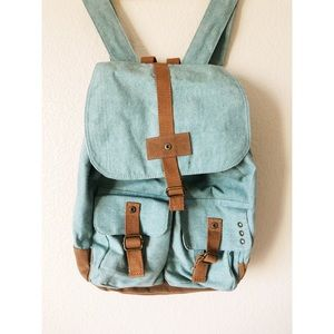 Mossimo denim style back pack